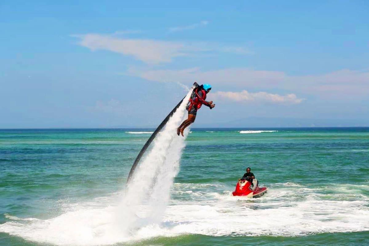 Ride a Jetpack in Tanjung Benoa