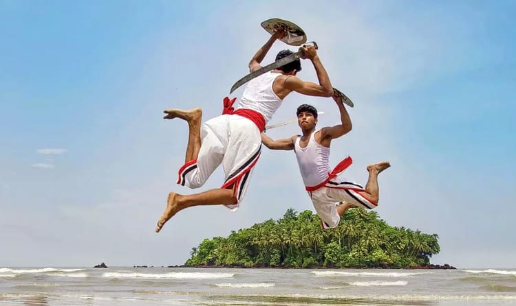 Watch Martial art of Kerala - Kalaripayattu Show