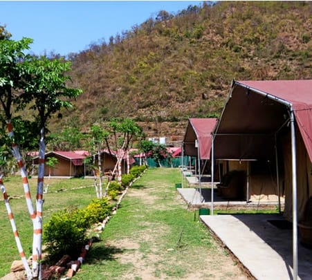 Riverside Camping in Rishikesh With Rafting Flat 25% Off