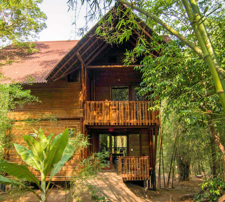 Stay in Bamboo Cottages, Wayanad