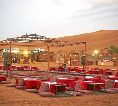 Desert Safari along with Stay in Dubai