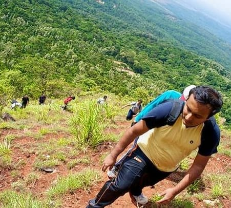 Mountain Trek In Mudumalai