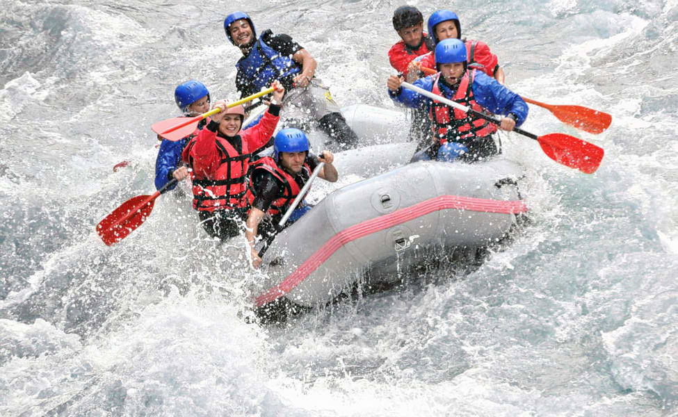 White Water Rafting On The Ganges Rishikesh