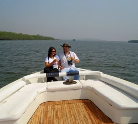 Open Yacht Cruise at Mandovi River in Goa