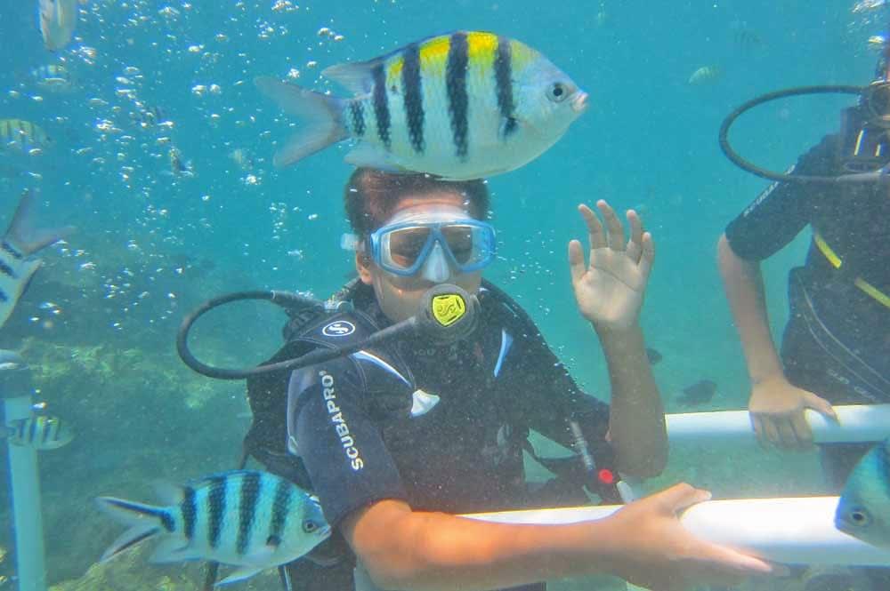 Scuba Diving at South Kuta in Bali