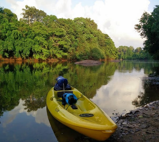 Kayaking Expedition in River Shambhavi