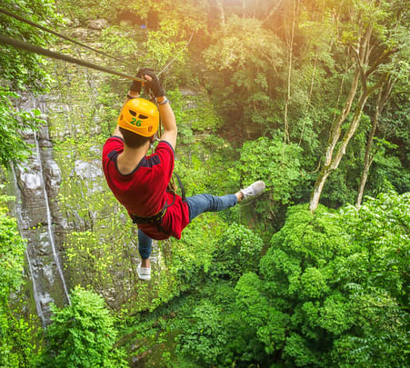 Zip Lining in Wayanad, Kerala - Flat 30% Off