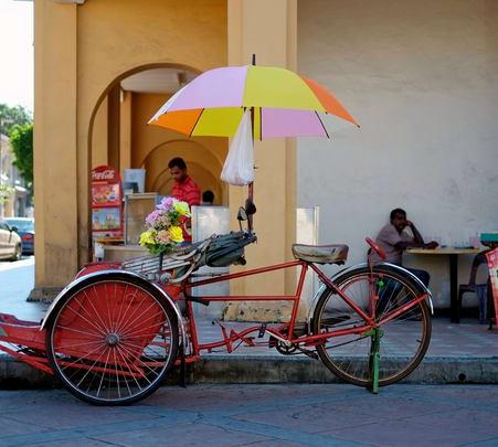 Heritage Trishaw Ride Penang City