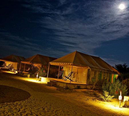 Sam Sand Dunes Luxury Desert Camping