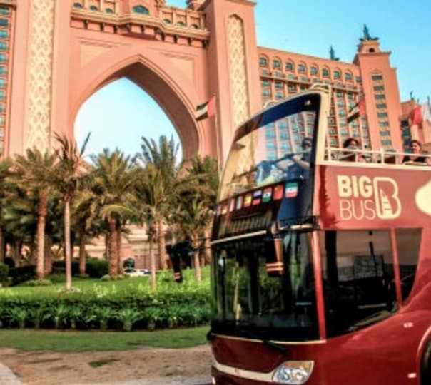 5 Hour City Sightseeing Dubai Hop-on Hop-off Tour