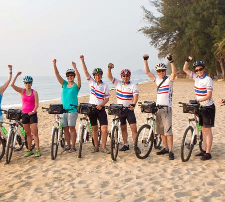 Cycling to Krabi