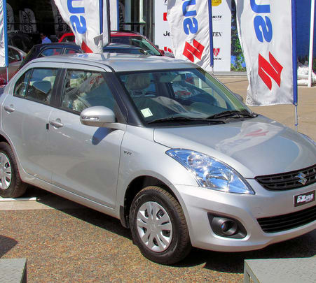 Rent a Maruti Swift Dzire in Mumbai