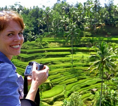 Walking Tour to Ubud Rice Paddy in Bali