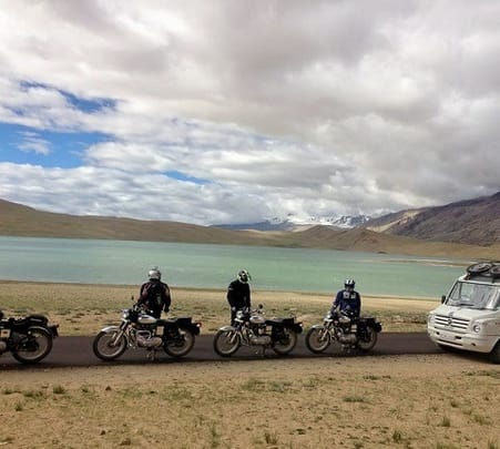 Manali to Leh on Bike 2018
