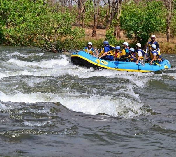 Rafting in Kundalika River