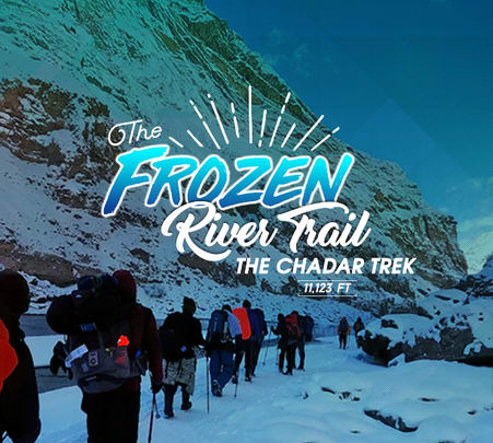 Chadar Trek 2020, Ladakh - Frozen River Trek Book @ ₹19,500