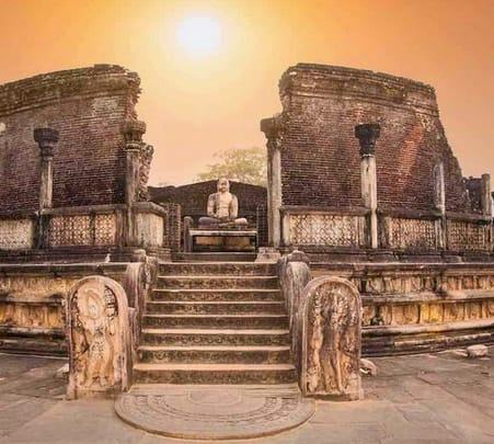 Private Cycling Tour to Polonnaruwa Ancient City