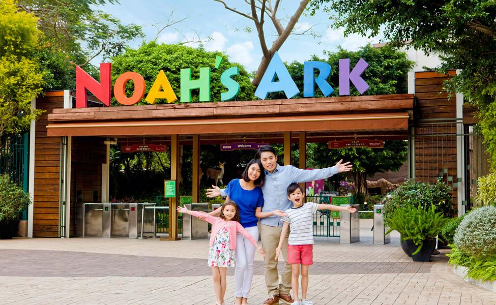Noah's Ark Hong Kong Tickets, Flat 18% Off