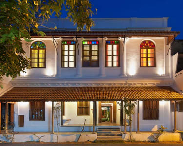 Tamil Heritage Stay at Maison Perumal, Pondicherry @ Flat 40% off