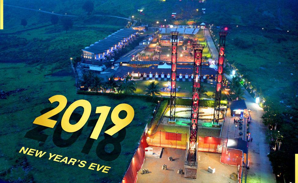 New Year Celebration At Della Adventure Park