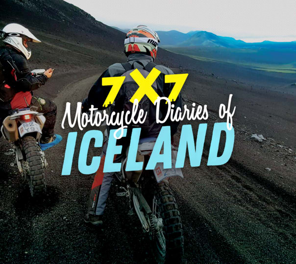 Live the Motorcycle Diaries in Iceland