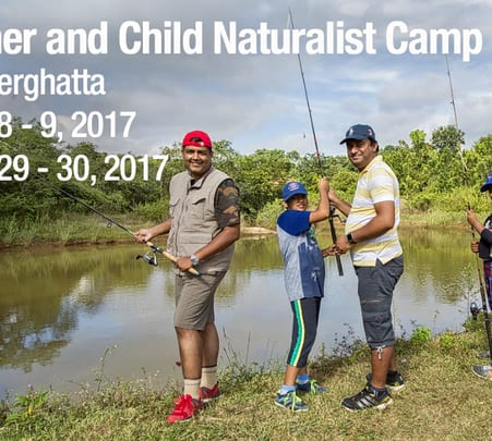 Father and Child Naturalist Camp in Bannerghatta