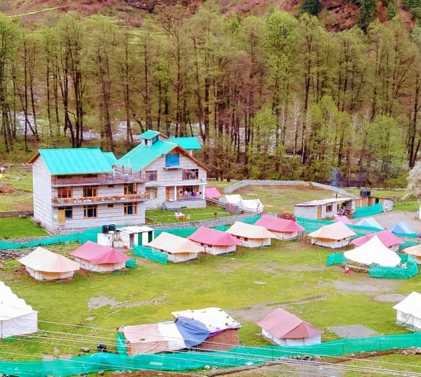 Camping with Adventure Activities in Solang Valley