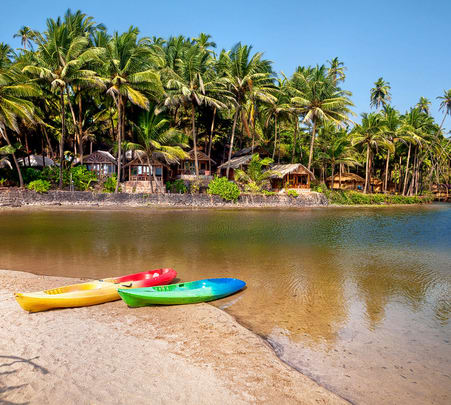 Kayaking in Goa's Baga Creek- Flat 38% Off