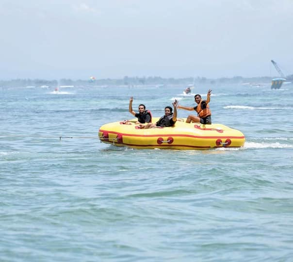 Donut Boat Ride at South Kuta in Bali