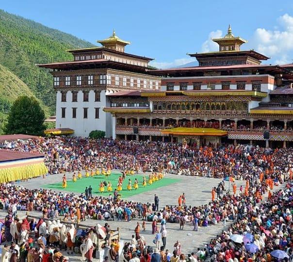 Experience Nimalung Tsechu Festival in Bhutan