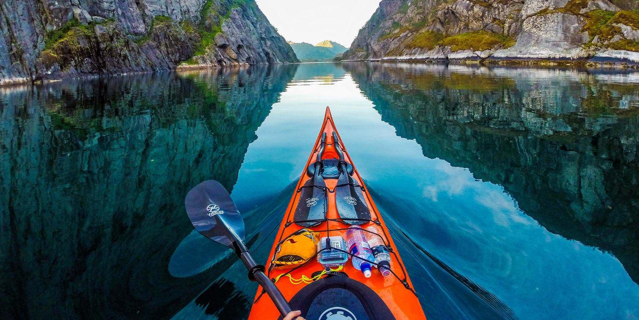 Thrilling Canoeing
