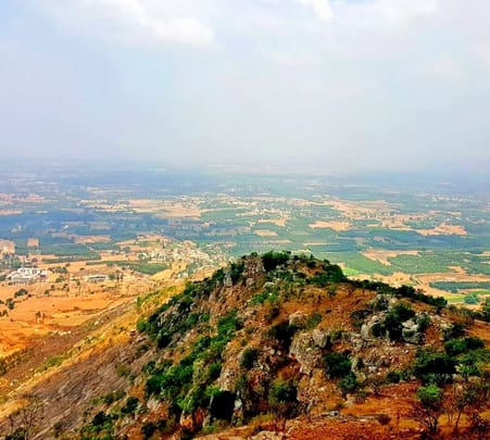 Day Trek to Horagina Betta near Nandi Hills