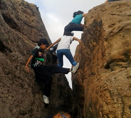 Adventure in Bheem Bhadak near Jodhpur