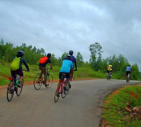 Cycling Trip to Bheemeshwari near Bangalore | Flat 15% off
