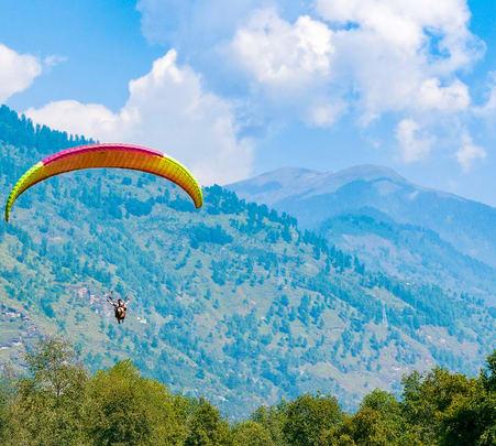 Paragliding in Shimla, Shivpuri