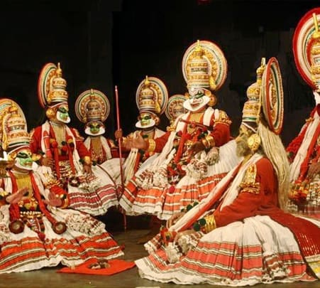 Kathakali Show In Munnar