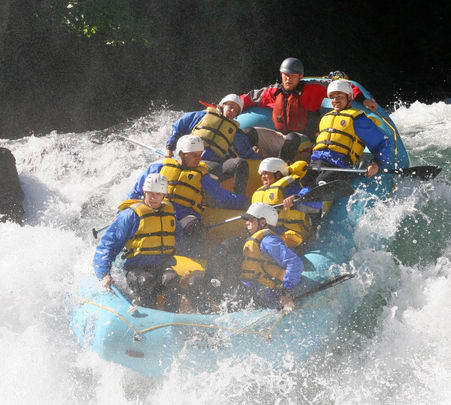 White Water Rafting in Rangpo