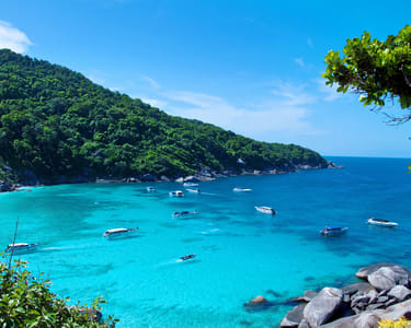 Similan Islands by Speedboat & Snorkeling Tour - Flat 23% off