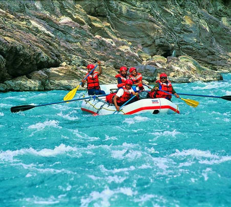 Sightseeing, Rafting and Cycling Trip of Leh
