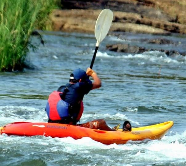 White Water Kayaking Adventure in Kundalika River