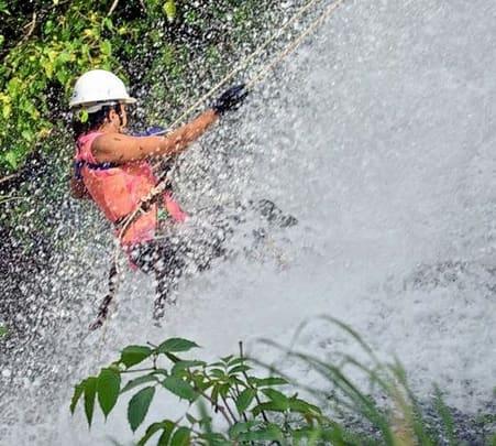 Bhivpuri Bekare Waterfall Rappelling