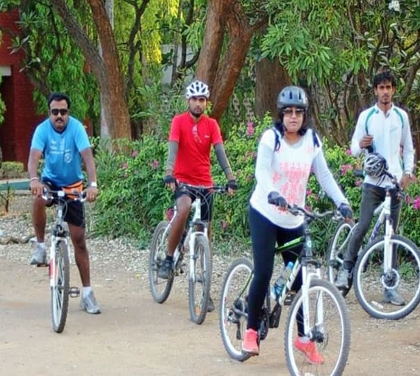 Cycling To Ramdevarbetta