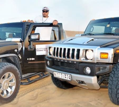 Hummer Desert Safari Tour, Dubai