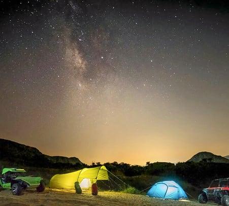 Camping on Sand Dunes, Jaipur
