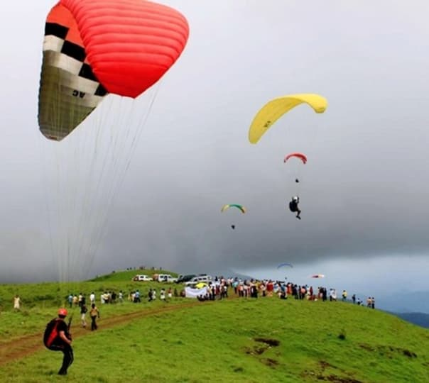 Paragliding Training - Vagamon, Kerala