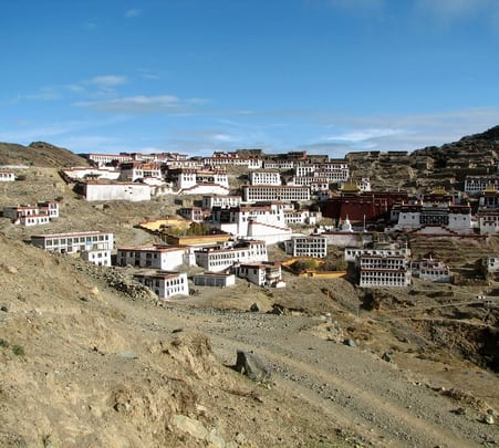 Trek to Samye Monastery
