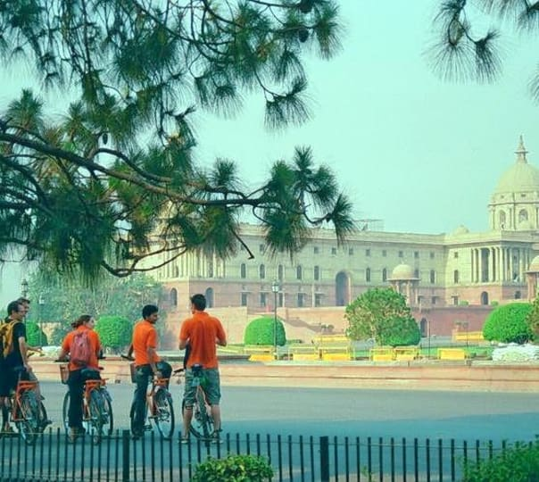Raj Bicycle Tour, New Delhi