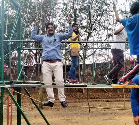 Corporate Outdoor Activities at Najafgarh Camp