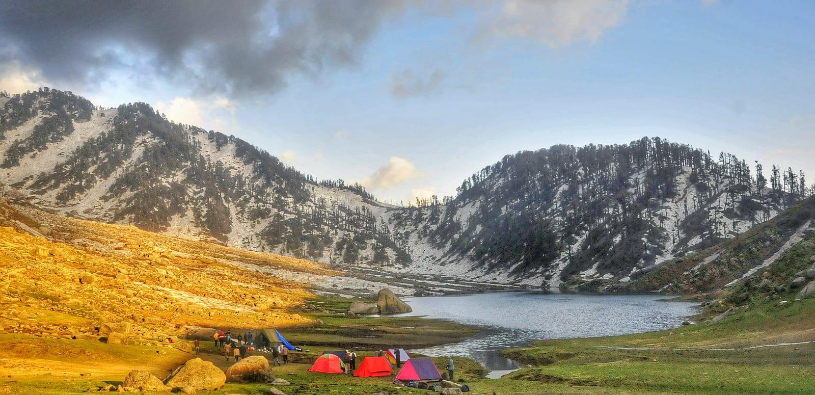 Kareri Lake Dharamshala, India