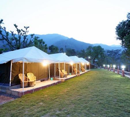 Lavish Campstay Experience in Rishikesh